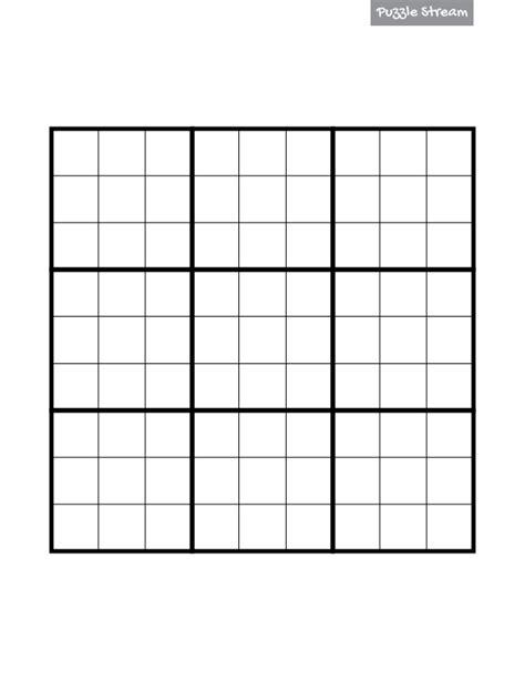 blank sudoku grid casualgett