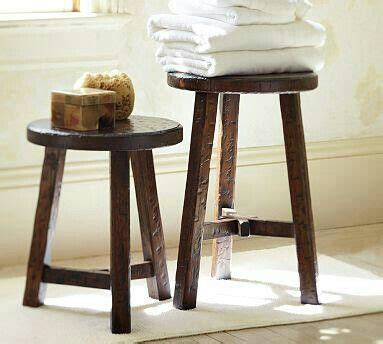 wood stools pottery barn accent stool bench decor