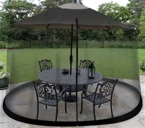 Patio Umbrella Mosquito Net New Umbrella Patio Cover Canopy Table Outdoor Garden Insect Bug Screen Only Ebay