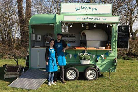 mobile vintage mobile vintage food truck serving wood fired pizza