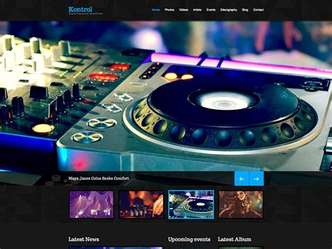 Dj Themes Songs | 21 best wordpress music dj themes for 2018 siteturner