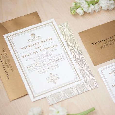 deco wedding stationery deco wedding invitation 1920 s invitation roaring 20