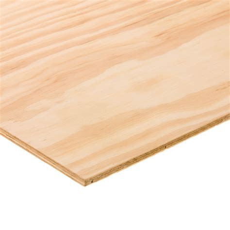 Home Depot Kitchen Furniture by Bc Sanded Plywood Common 15 32 In X 2 Ft X 4 Ft