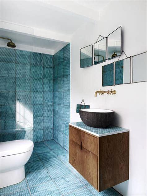 blue tiles bathroom ideas badkamer idee 235 n van interieurstylist stine langvad
