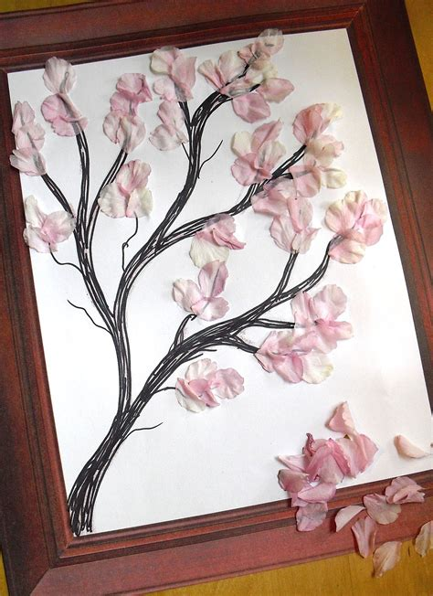How To Make A Cherry Blossom Tree Out Of Paper - rawdorable cherry blossoms for me