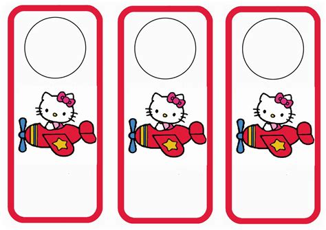 printable bookmarks hello kitty hello kitty door hangers birthday printable