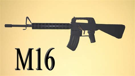 How To Make A Paper M16 - how to make a paper m16 rifle that shoots basic model