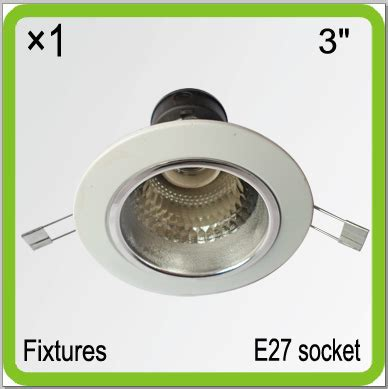 ceiling light reflector aliexpress buy manufacturer 3 quot recessed led