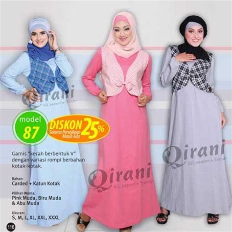 Q 187 By Qirani cuci gudang baju anak murah dejaya collection shop