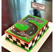 Race Track Cake On Pinterest  Car Birthday Cakes