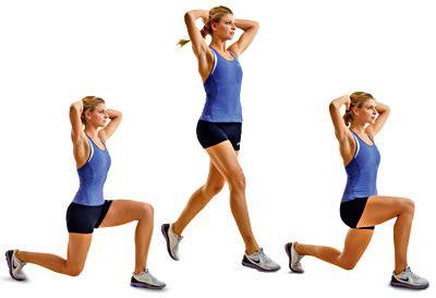 Jumps Slit lunge split jumps