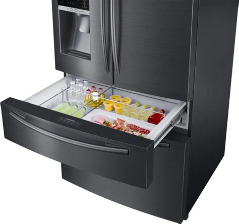 Samsung Flexzone Drawer by Samsung Rf25hmedb 33 Inch 4 Door Door Refrigerator