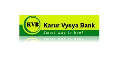 kvb bank live chennai karur vysya bank opened new branch in