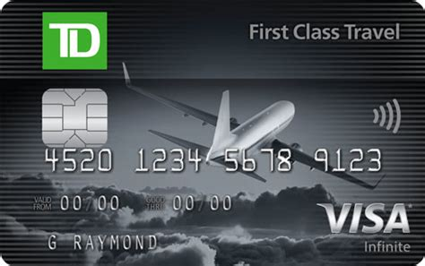 td  class travel visa infinite card review  news