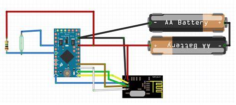 tutorial arduino nrf24l01 low power door window sensor