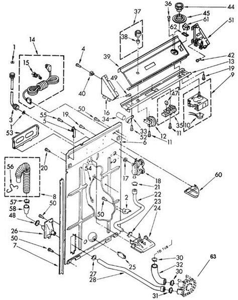 kenmore 80 series dryer parts diagram kenmore 90 series washer wiring diagram get free image