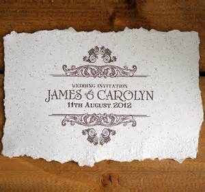 vintage invitations vintage style wedding invitation by solographic notonthehighstreet