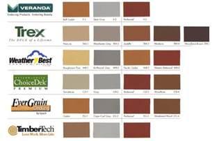 trex colors trex deck colors
