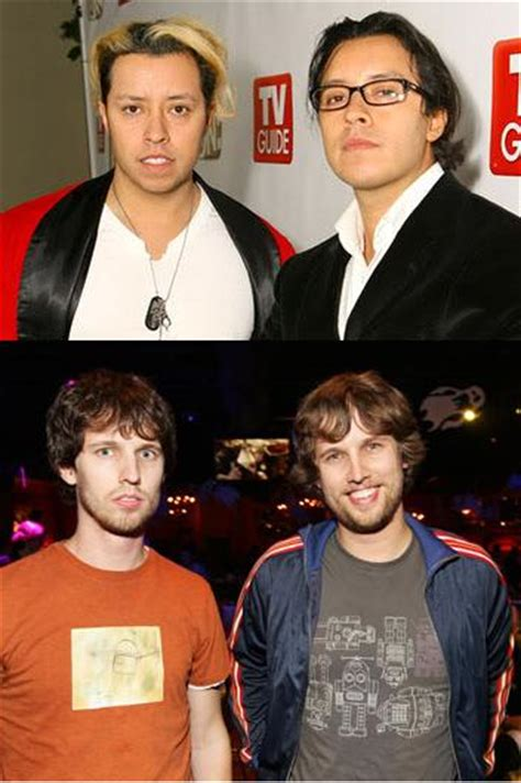 Both Jon Heder AND Efren Ramirez from Napoleon Dynamite ... Jon Heder Twin
