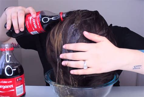 coke rinse hair 10 coca cola hacks that actually work