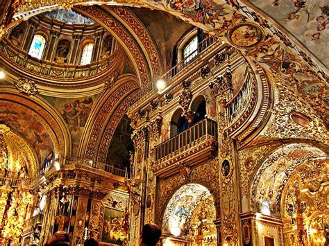 baroque interior the basilica of san juan de dios dates