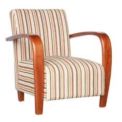 restmore stripe armchair next day delivery restmore