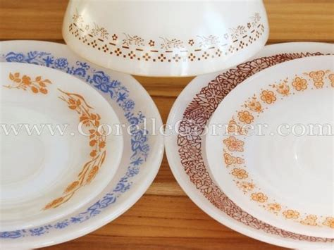 old pattern corelle dishes termo rey glass dinnerware fake corelle patterns pyrex