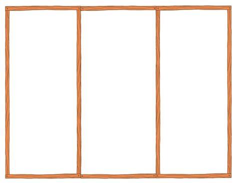 Blank Tri Fold Brochure Template Cyberuse Blank Tri Fold Brochure Template Free