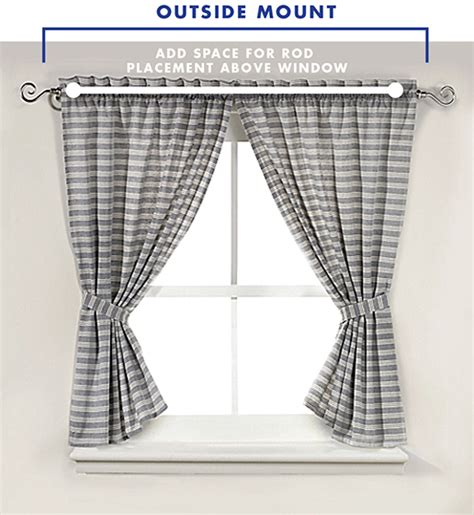 curtains mounted inside window frame how to measure windows for curtains bed bath and beyond