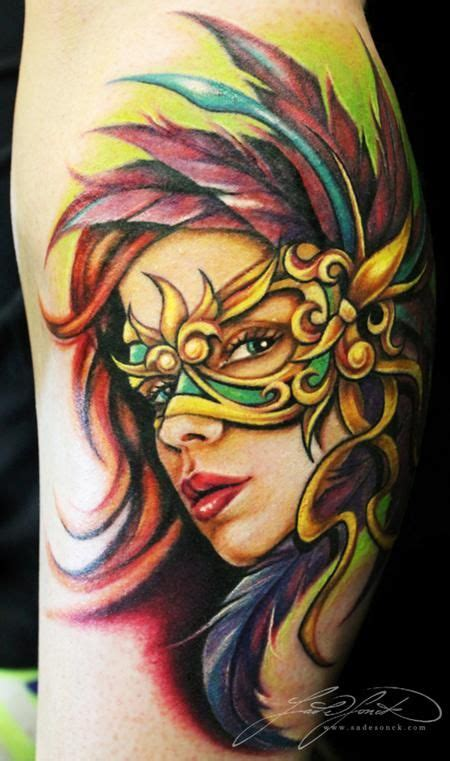 mardi gras mask tattoo designs 79 best images about masquerade tattoos on
