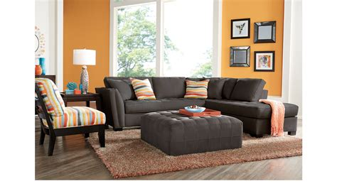 Orange And Grey Room Decor by Orange Gray Living Room Inspiration Ideas For Decorating