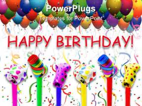 best powerpoint template happy birthday concept on