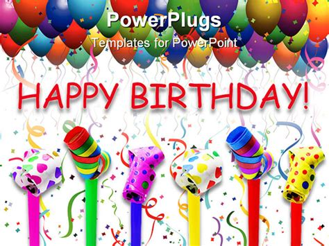 Happy Birthday Flash Animation Free Download Happy Birthday Ppt Template
