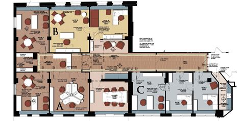 Executive Office Floor Plans | layout executive office suite floor plans house plans