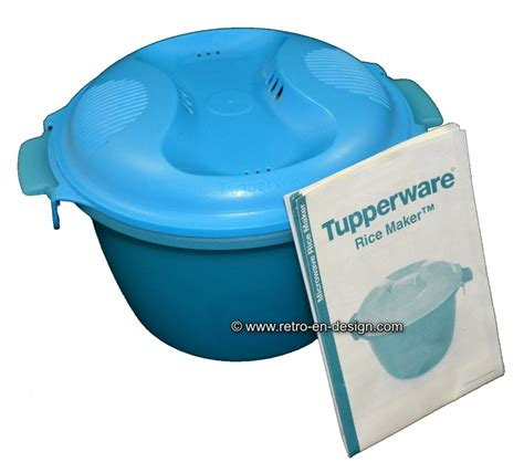 Rice Cooker Tupperware tupperware microwave rice maker recently sold retro design 2nd collectibles
