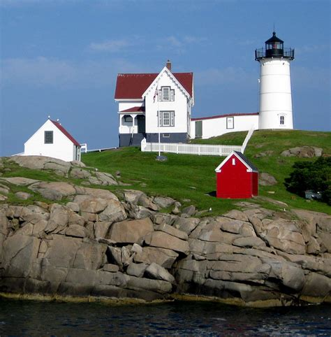 Cape Neddick Light by Summer Days Make Me Feel Own Time Machine Buildings Places Things