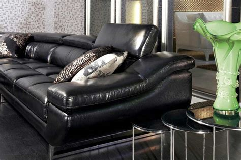 black leather sectional with ottoman vg 77 black leather sectional sofa leather sectionals