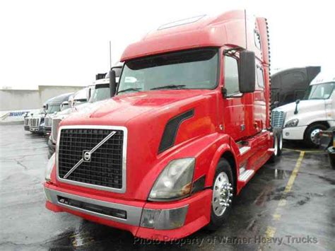 automatic volvo semi volvo 780 automatic transmission 2007 sleeper semi trucks