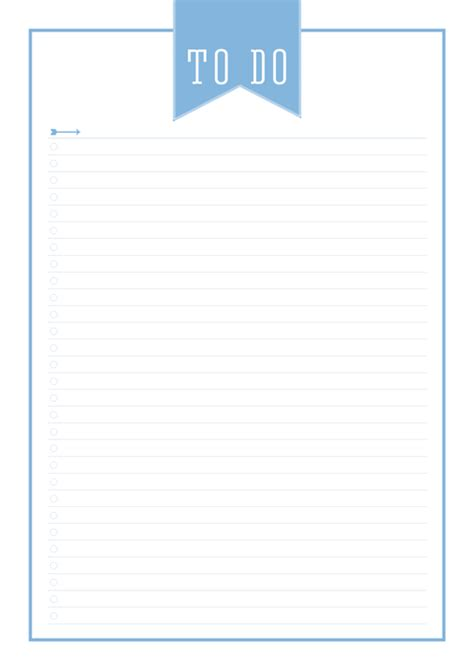 printable lined to do list the ultimate free printable home organizer to do list