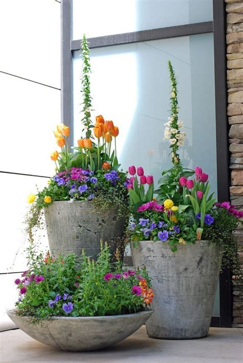 Container Plant Ideas Front Door by 35 Front Door Flower Pots For A Impression