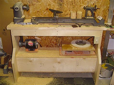 wood lathe bench plans wood lathe bench plans set your wood lathe standing firm