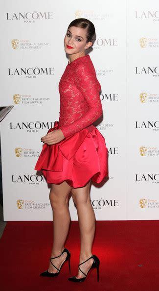 emma watson british academy film awards emma watson pictures lancome pre bafta party arrivals