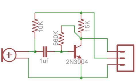 transistor microphone lifier circuit electret microphone schematic positive electret get free image about wiring diagram