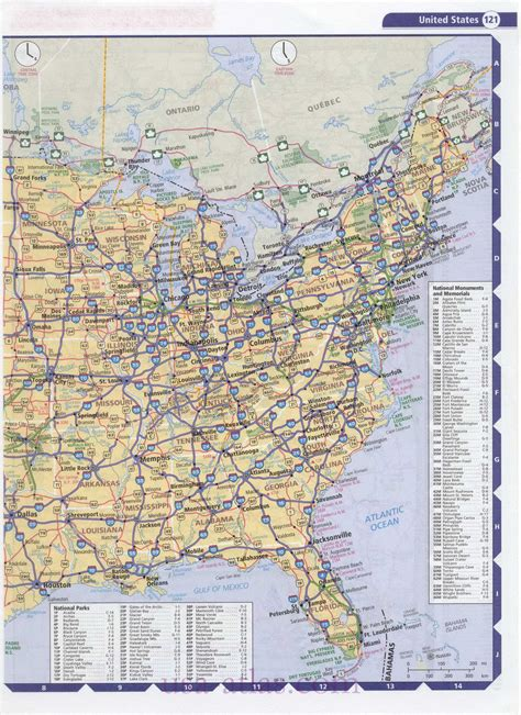 eastern us map eastern united states images