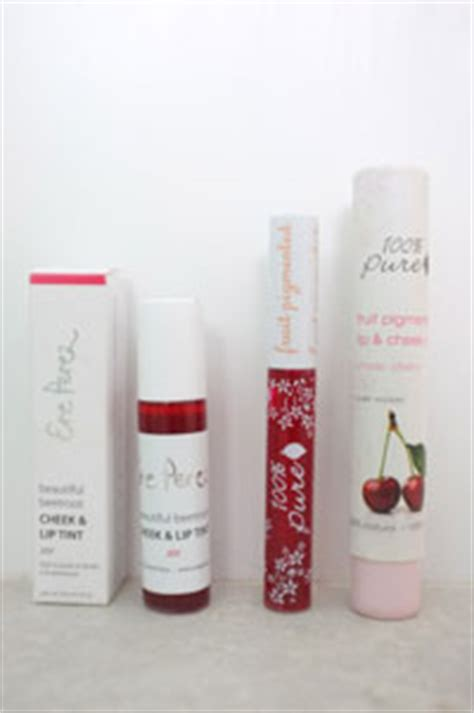 Liptini Lip Liqueur Lip Cheek Stain In Cherry by Lip Tint Review Ere Perez V 100 Cherry