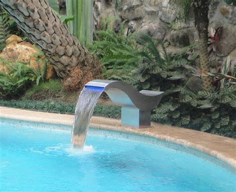 diy pool waterfall diy pool fountain ideas pool design ideas