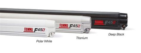 fiamma 45s awning fiamma f45s awning for motorhomes caravans and cervans polar white case