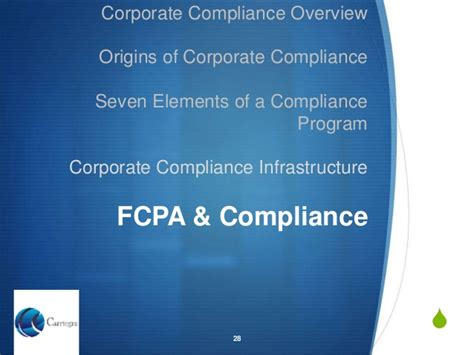 Corporate Compliance Officer by Corporate Compliance Overview