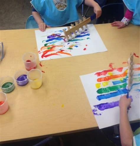 Kara Overall Ori Unique 1 ideas for a preschool classroom rainbow paint sticks
