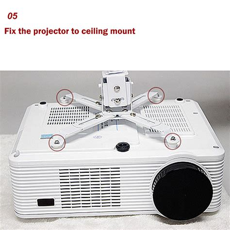 15cm Bracket Projector High Quality excelvan projector bracket top quality universal led dlp lcd overhead ebay